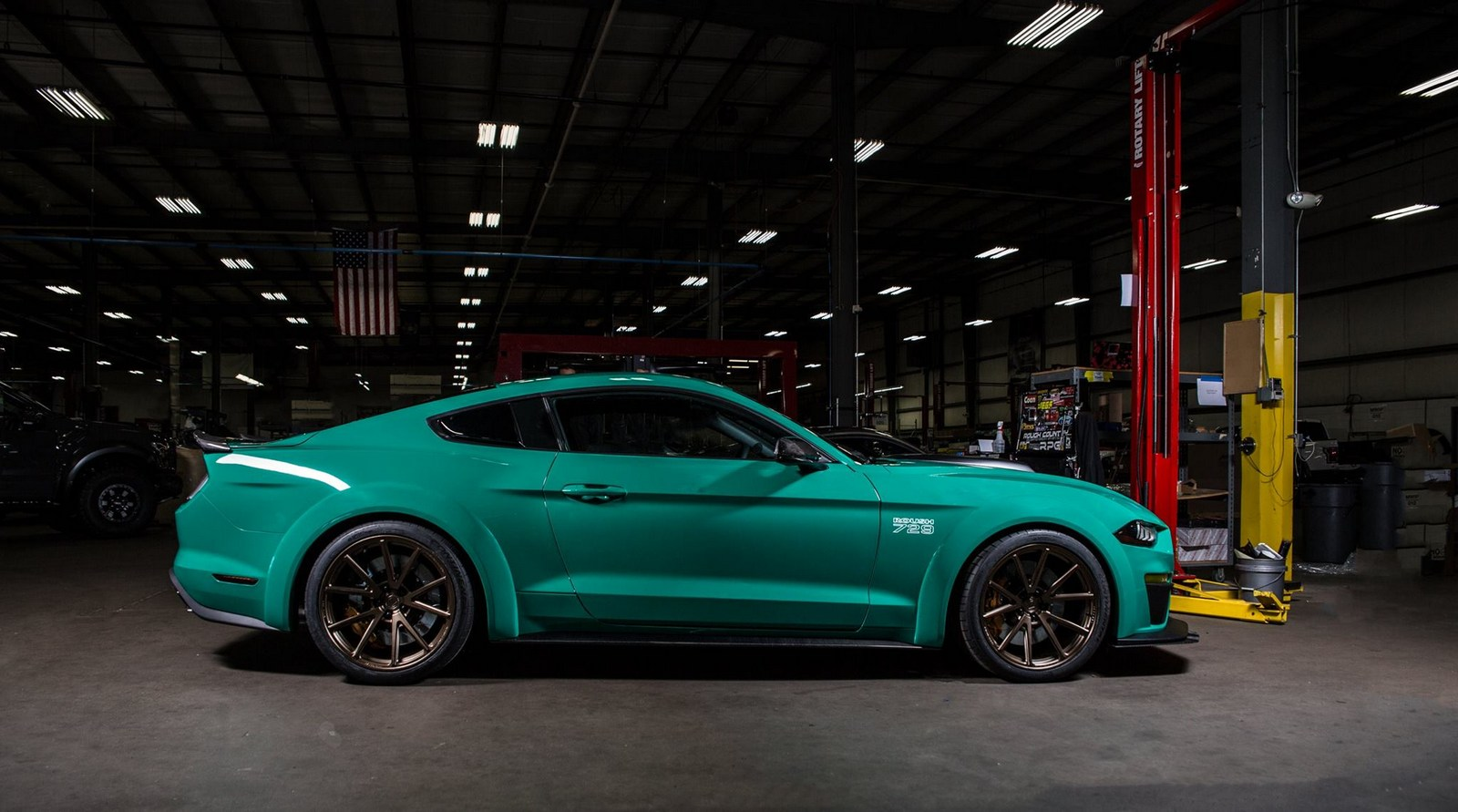 Roush 729 Mustang Has 3D Printed Components And More Than ...