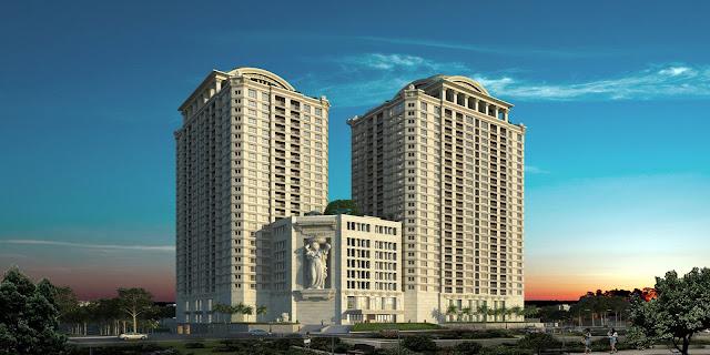 Tổ hợp chung cư cao cấp D'. Le Roi Soleil Quảng An