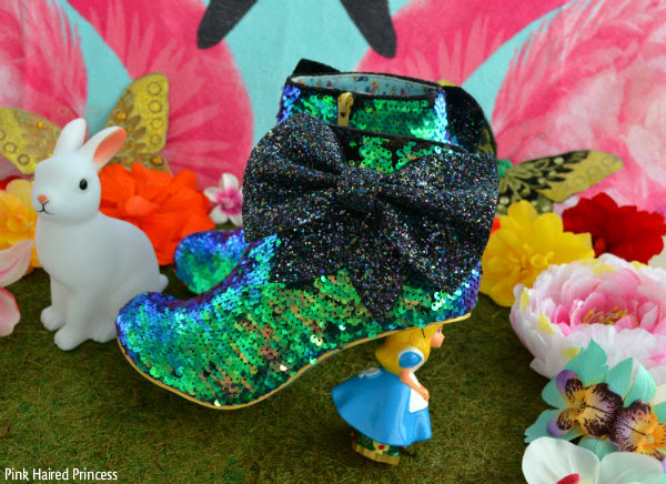 irregular choice sequins who in the world am i? ankle boots