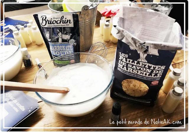 recette de lessive maison avec bicarbonate et savon de Marseille