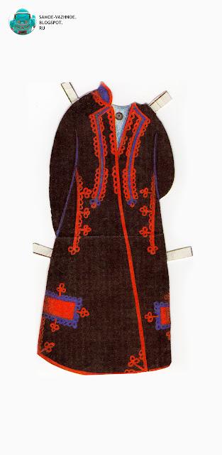 Бумажные куклы с одеждой для вырезания скачать бесплатно СССР, советские. Традиционный костюм. Бумажные куклы в национальных костюмах Эстония Таллин СССР.