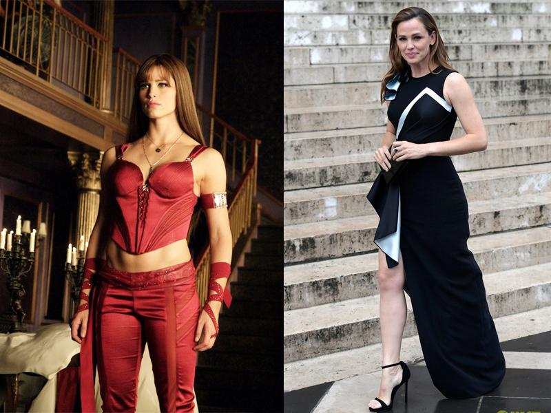 Jennifer Garner cantik Seksi artis dan superhero kuat