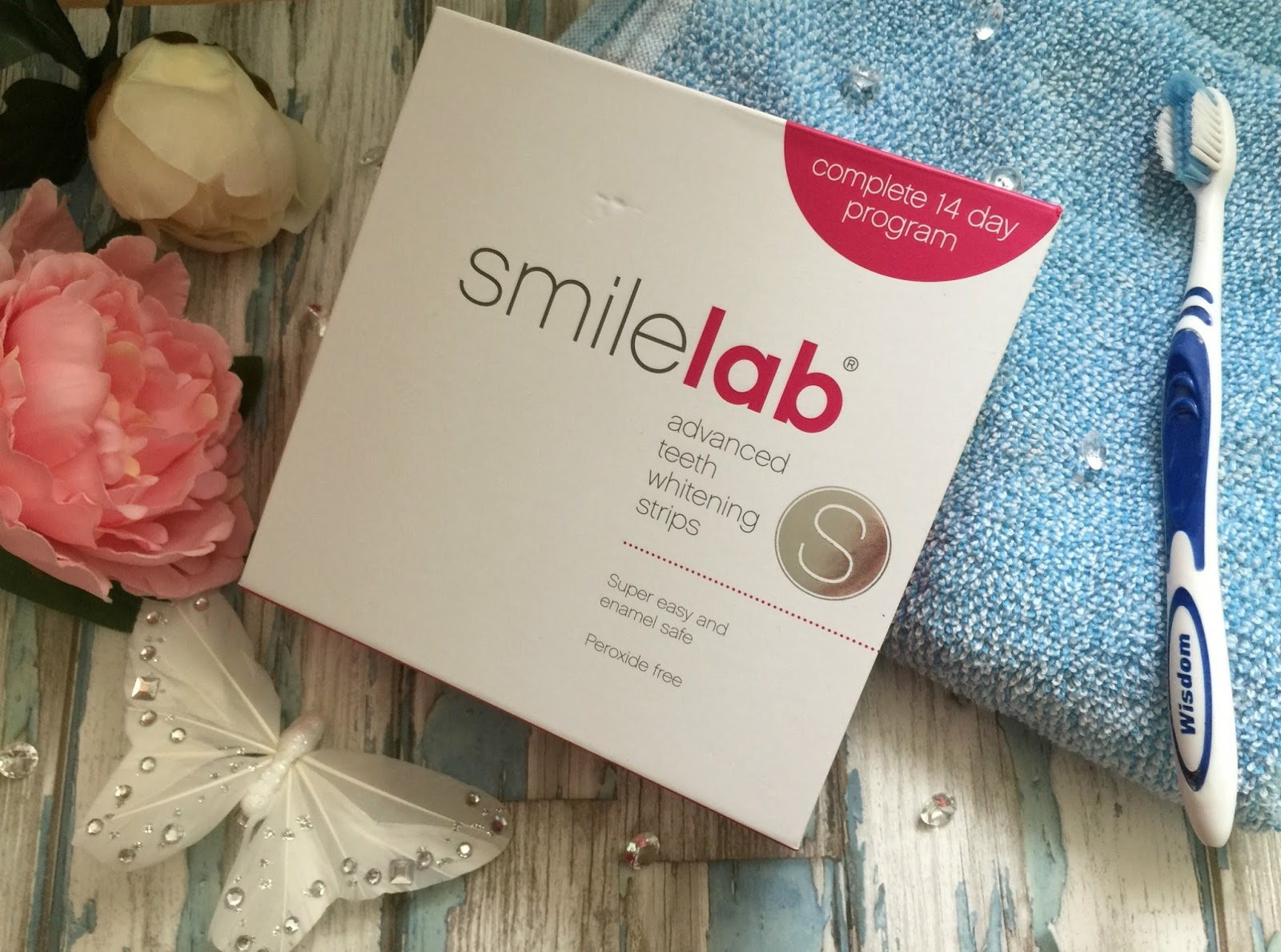 smilelab tooth whitening strips the results