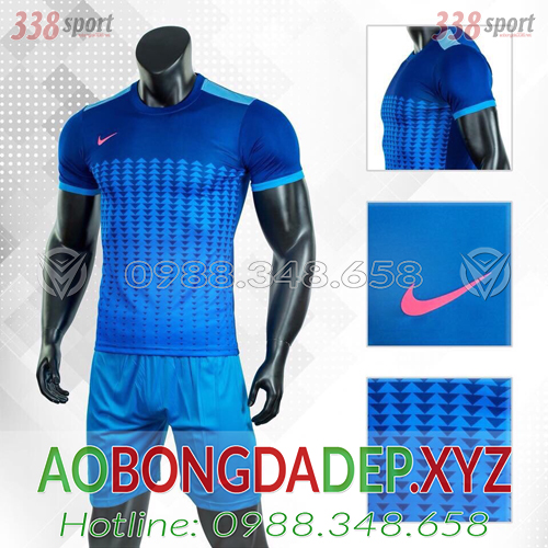 Áo Nike Aro 2019 Màu Xanh Đậm Đẹp