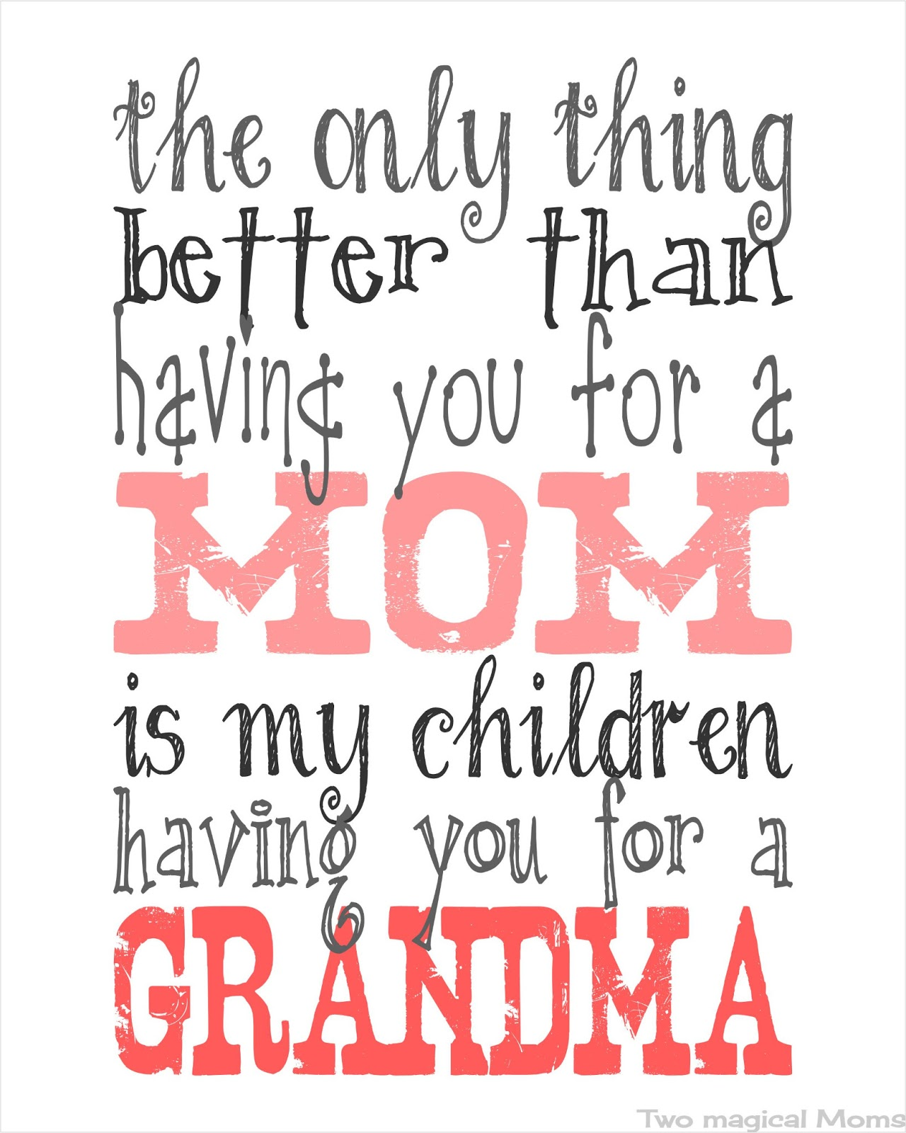 Mother And Grandma Quotes QuotesGram ➤ I Love You Grandma Quotes In Spanish