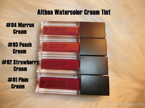 Althea Watercolor Cream Tint