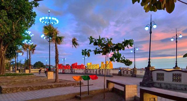 taman wisata pantai muara indah
