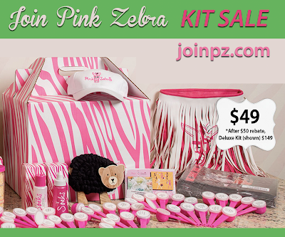 Pink Zebra Kit discount offer