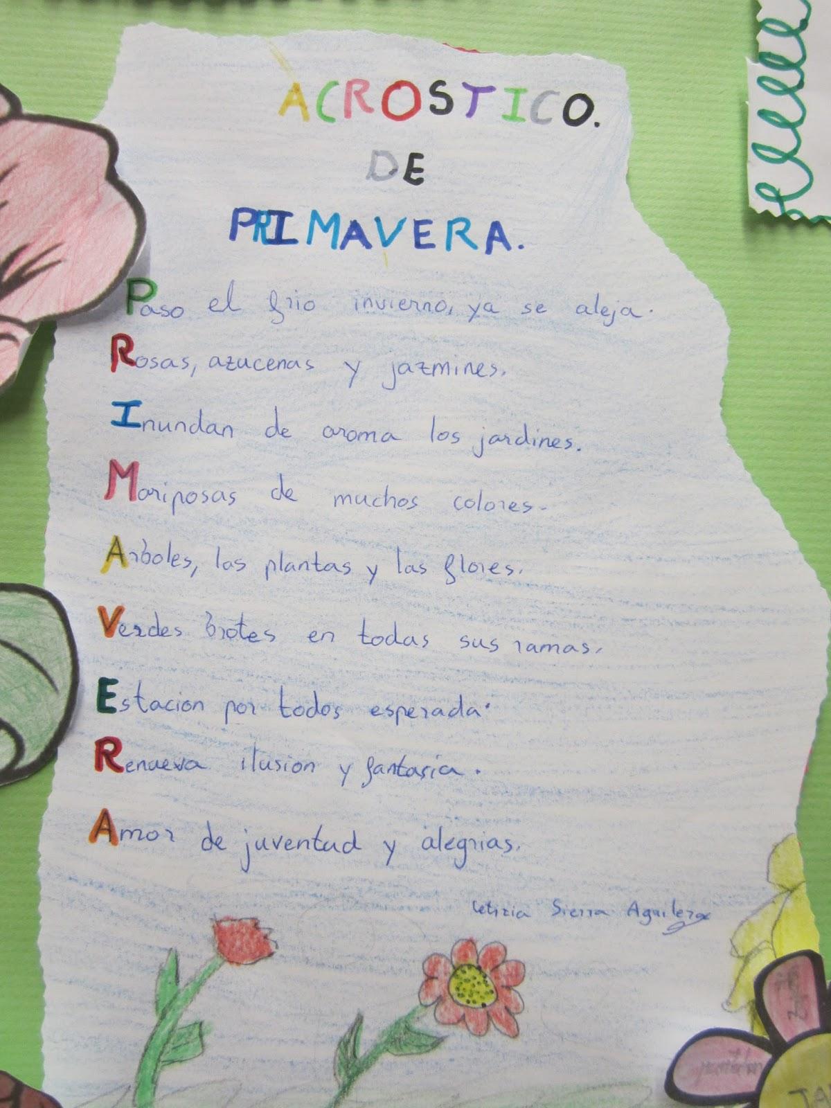 Hermosa Plantilla Acróstica Fotos - Ejemplo De Colección De ...