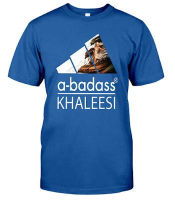 A Badass Khaleesi Game Throne Dragon Wing Adidas T Shirt
