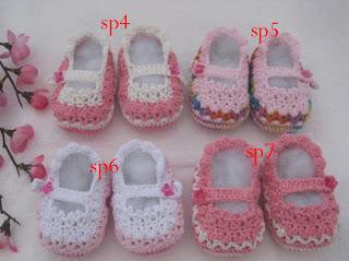 Sepatu Rajut Bayi Lucu