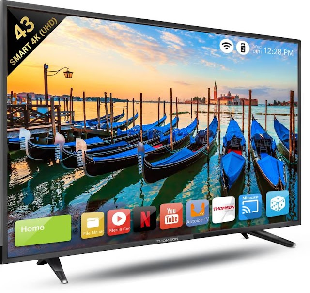 Thomson Launched Smart 4K UHD Led Tv's In India