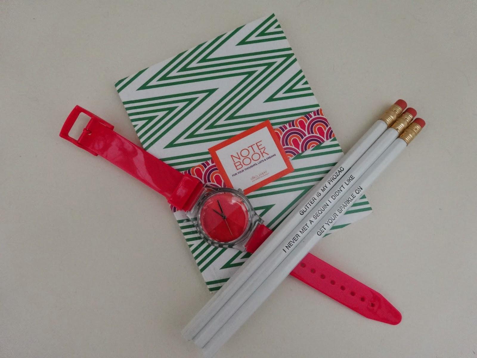 Effie's Paper, Pencils, Desk Accessories, Glitter