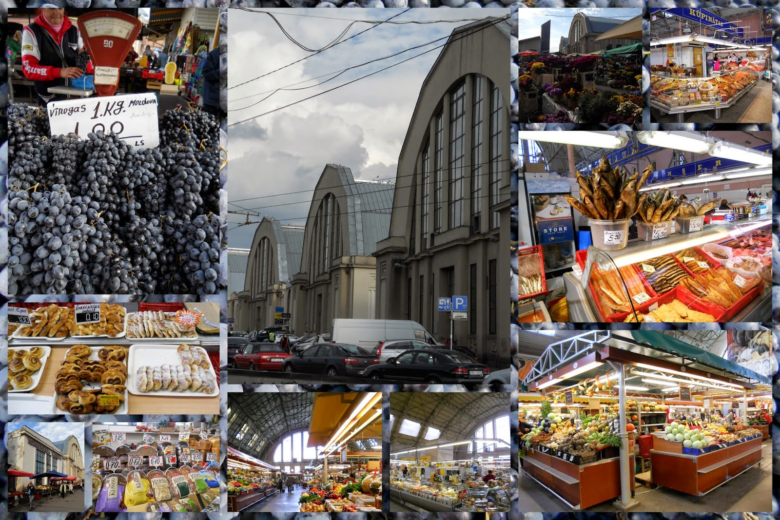 Best food markets in Europe: Riga Central Market