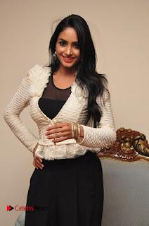 Actress Pooja Sree  Pictures at Khaan Saab Restuarent Launch in Gachibowli   0020.JPG