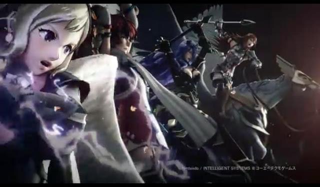 Third Screenshot from Fire Emblem Warriors Opening Movie