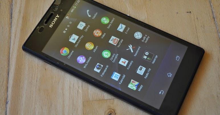 အီလက္ထေရာနစ္ နည္းပညာ: Sony XPERIA M2 D2303 - Android 4.3 ...