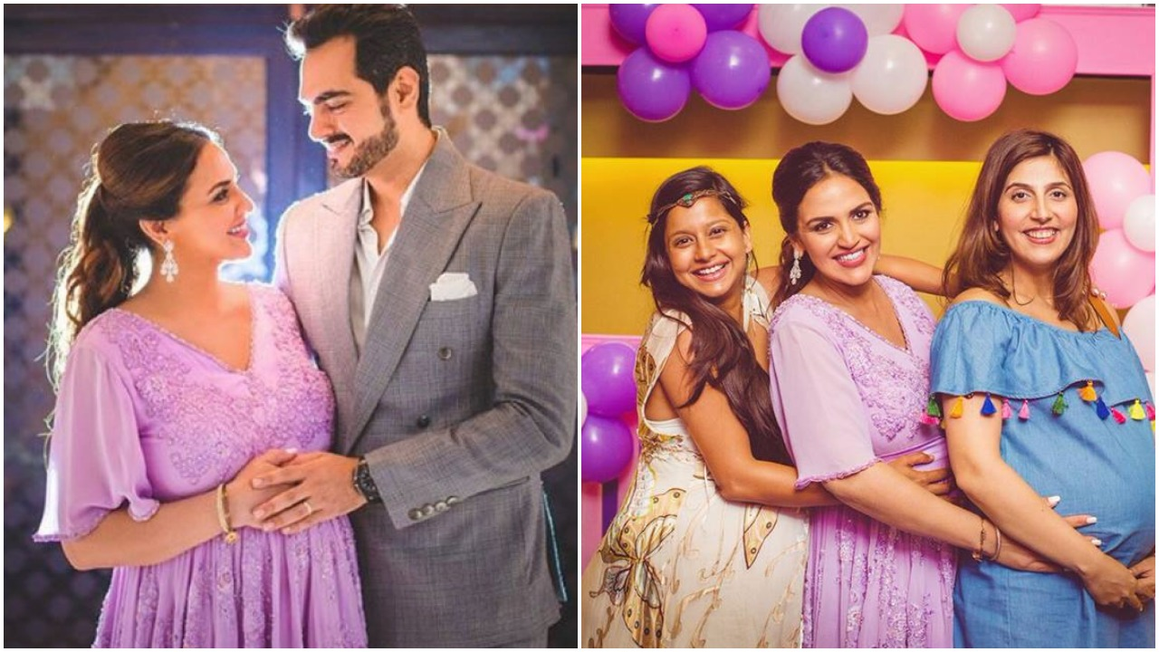 Guilty Bytes Indian Fashion Blogger Delhi Style Blog Beauty Blogger Wedding Blog Inside Pics Mommy To Be Esha Deol S Sister Ahana Hosted A Secret Baby Shower For Her And It S Beautiful