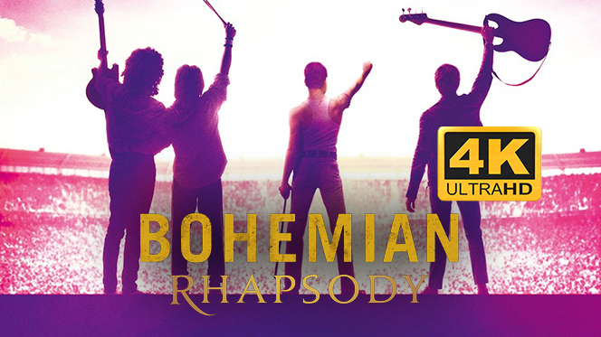 Bohemian Rhapsody (2018) 4K UHD 2160p Latino-Castellano-Ingles