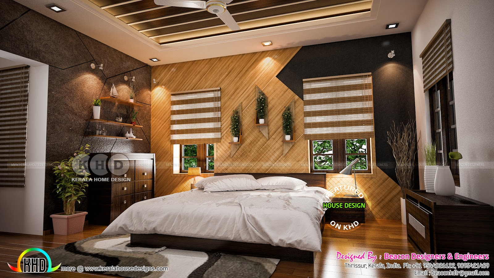 Stunning Interior Design Ideas By Beacon Designers Kerala Home Design And Floor Plans 8000 Houses