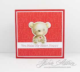 Handmade card from Jan Allen featuring products from My Favorite Thins #mftstamps