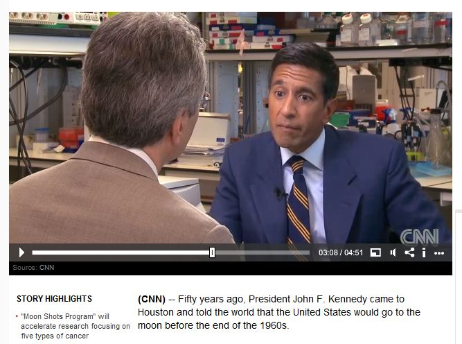 The Script Doctor: How CNN Broke the News about a Cancer Cure