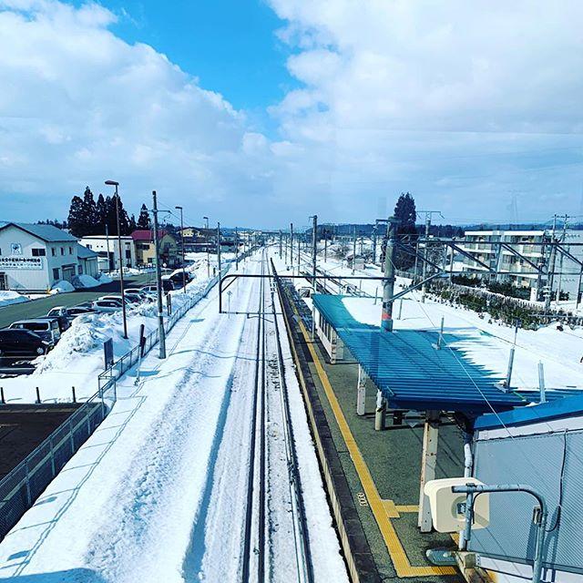 雪国的風景
