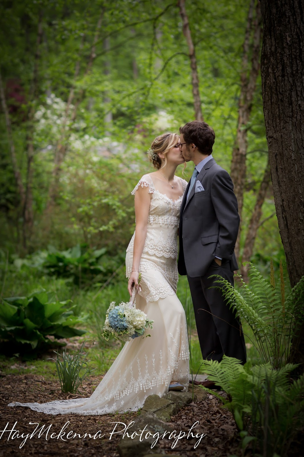 HayMckenna Photography Outdoor Wedding in the Woods at