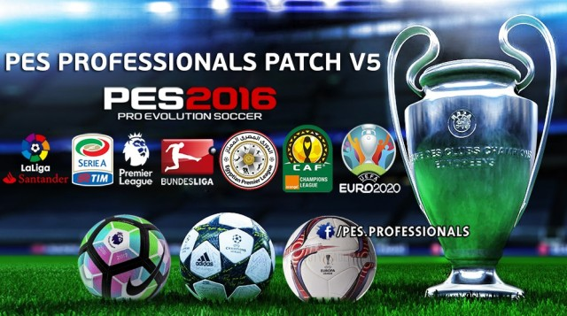 PES 2016 PES Professional V5 Option File by LandonG
