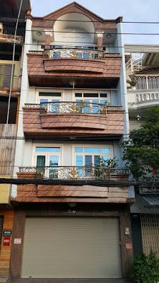 2 căn MT đường Nguyễn Hồng Đào, gần chợ Bàu Cát, 5x17m, 3 lầu
