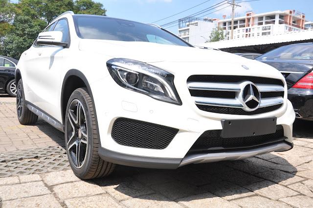 Mercedes GLA 250 4MATIC sở hữu một thân hình nhỏ gọn
