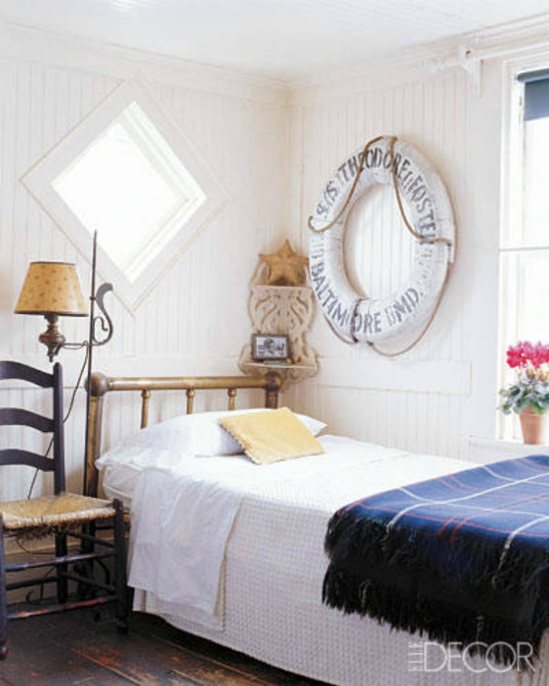 Nautical Themed Bedroom Decor: Inspirations On The Horizon:Coastal Rooms With Nautical