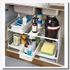 Storage containers for under the bathroom sink