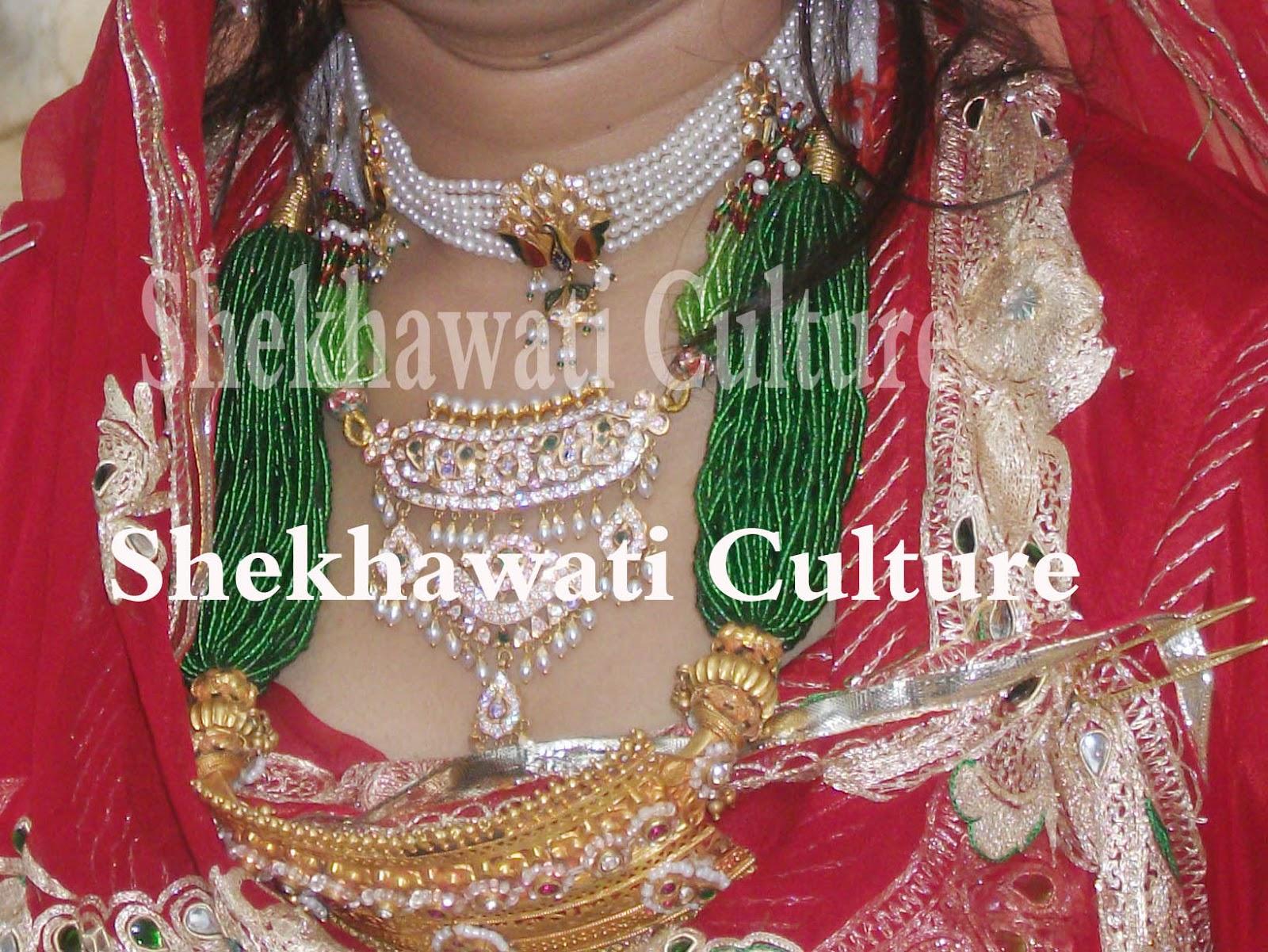 Rajputi necklace(Aad) (jewellery ) | Culture of Rajasthan
