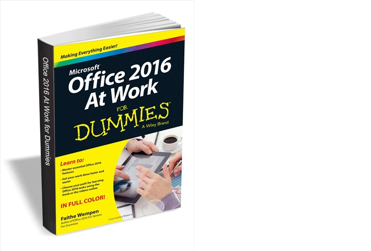 Office 2016 at Work For Dummies ($20 Value) FREE