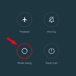 Restart Ulang Hp Android Sobat