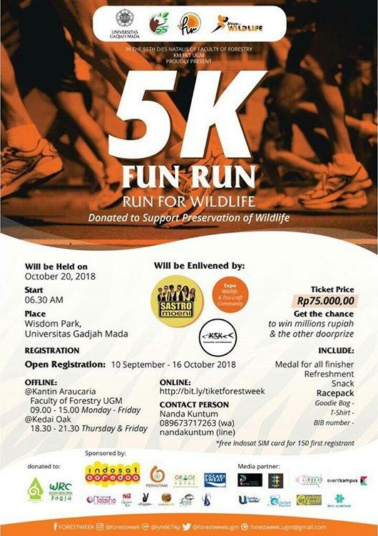Run for Wildlife • 2018