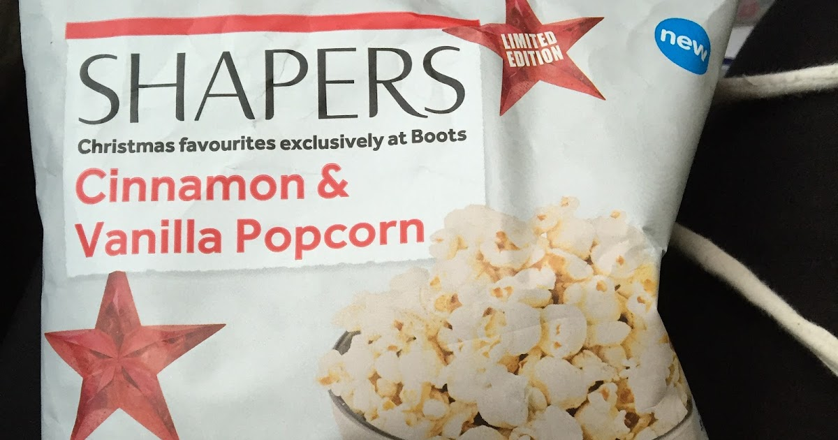 ... New Treats: New Limited Edition Cinnamon & Vanilla popcorn by Boots