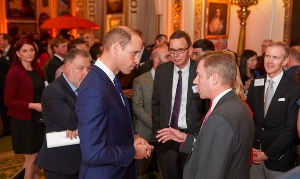 Prince William says the UK should look for new trade deals
