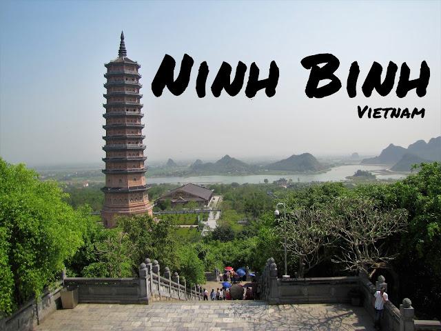 overview bai dinh pagoda ninh binh vietnam