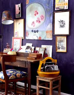 purple Color Decorating Ideas