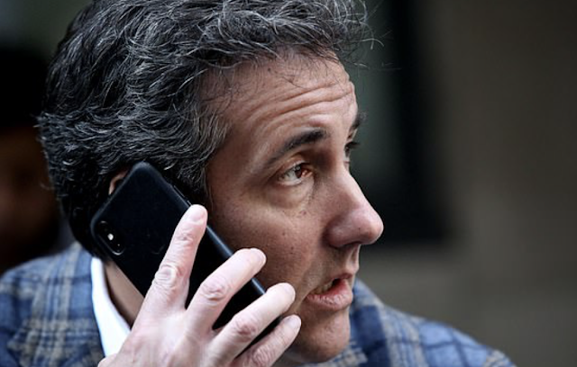 Michael Cohen denies new claim his phone was in Prague at time of meeting with Russians described in anti-Trump 'dirty dossier' as he insists he's never been ANYWHERE in the Czech Republic
