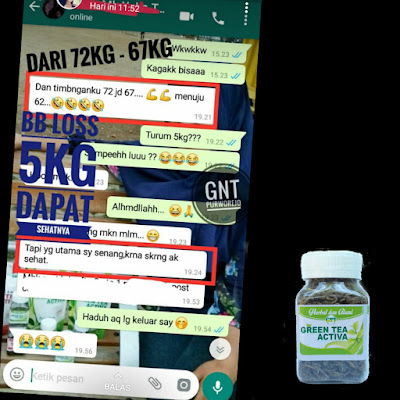 jual green tea activa