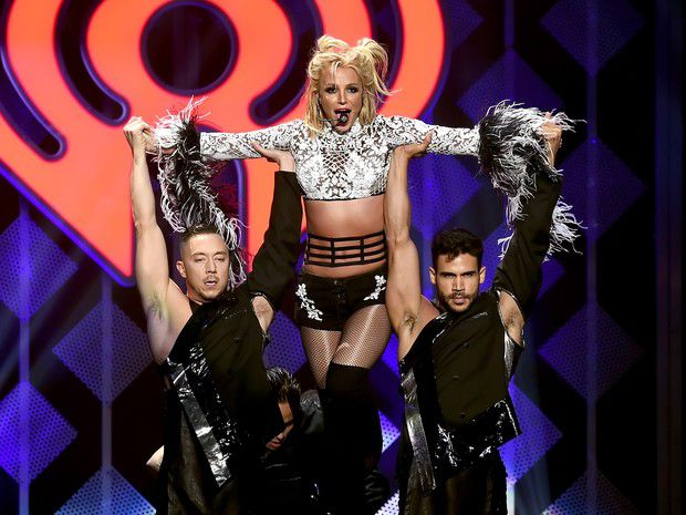 Britney Spears in concert this Friday, 2