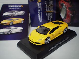 Lamborghini Huracan LP610-4 yellow Kyosho 1 64 scale part 5