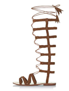 Topshop Faraday Hi Plaited Sandals