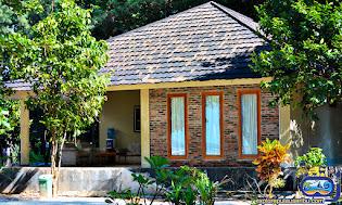 penginapan cottage di pulau genteng kecil