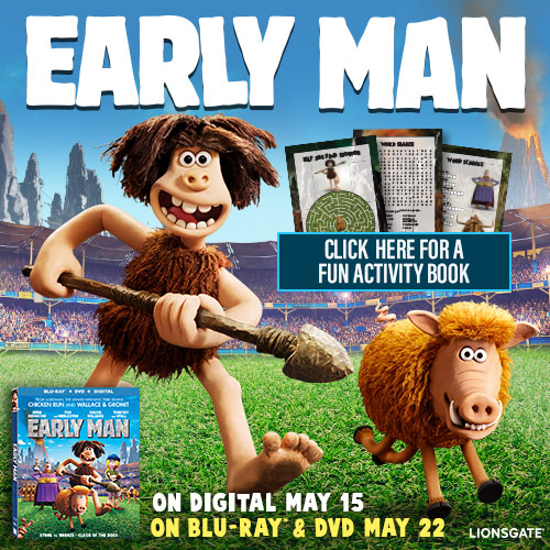 Lionsgate's Early Man - Available on Blu-ray this TUESDAY! #EarlyMan