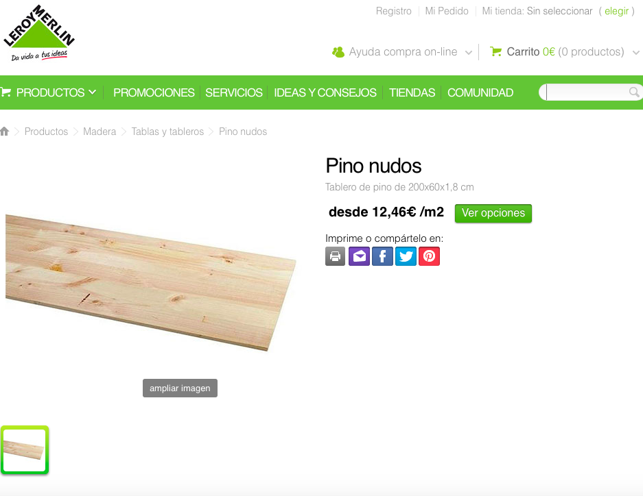Tablones de madera leroy merlin detalle tablero - Tablas madera leroy merlin ...