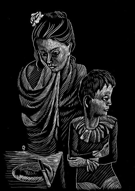 Gwen Tomahawk Picasso Maternité (Les Baladins) 1905